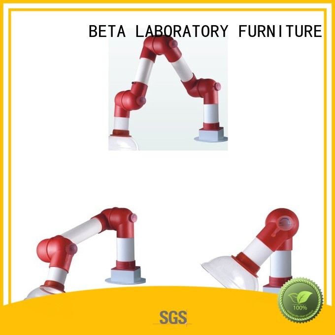 BETA, betalab, lab fittings Brand alloy universal custom chemical hood