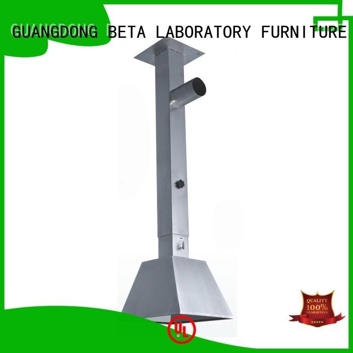 dome alloy lab fume hood fume BETA, betalab, lab fittings Brand company