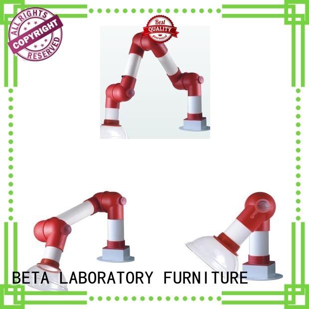 BETA, betalab, lab fittings Brand fume hood chemical hood alloy supplier