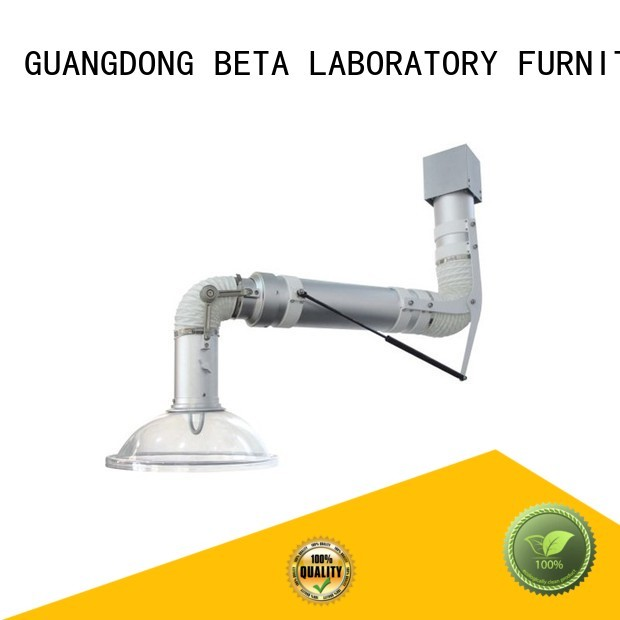 BETA, betalab, lab fittings Brand benchtop fume scalable lab fume hood manufacture