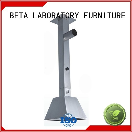 benchtop universal hood chemical hood BETA, betalab, lab fittings Brand