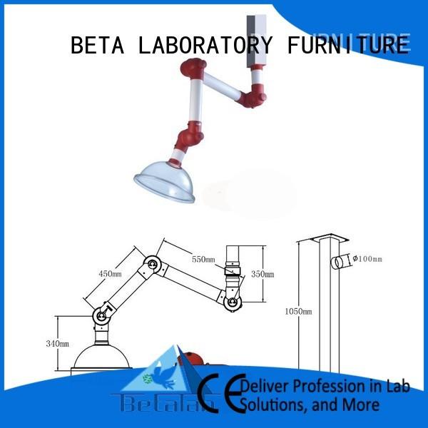 chemical hood universal fume BETA, betalab, lab fittings Brand