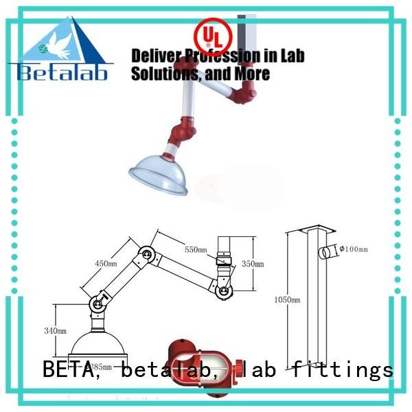 fume benchtop dome OEM lab fume hood BETA, betalab, lab fittings