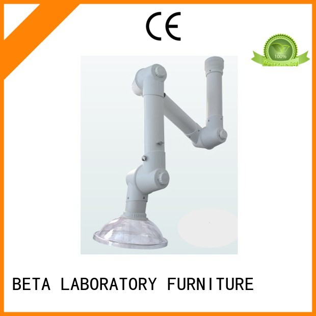 benchtop dome alloy chemical hood BETA, betalab, lab fittings Brand