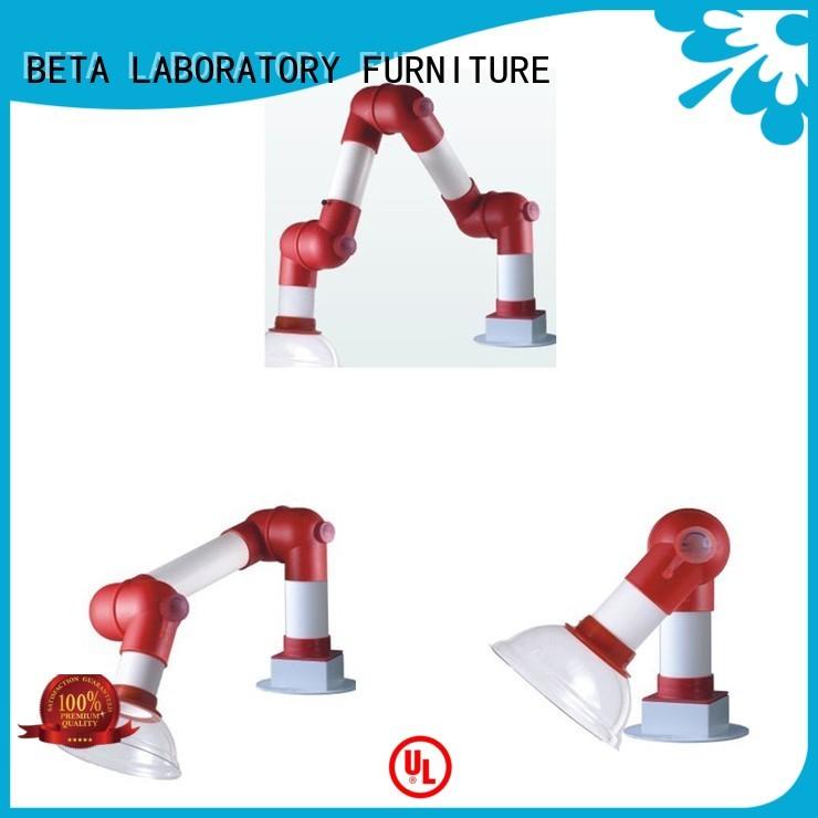 hood extraction chemical hood fume BETA, betalab, lab fittings company