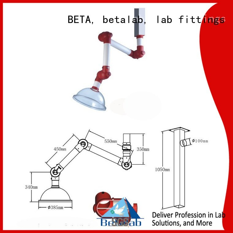 Hot hood chemical hood scalable BETA, betalab, lab fittings Brand