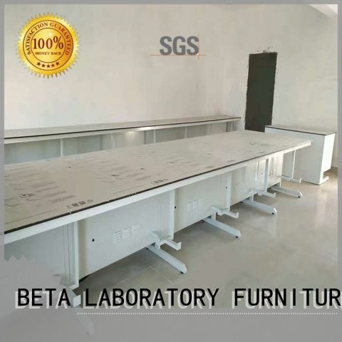 BETA Brand hframe mounted laboratory furniture manufacturers mount table