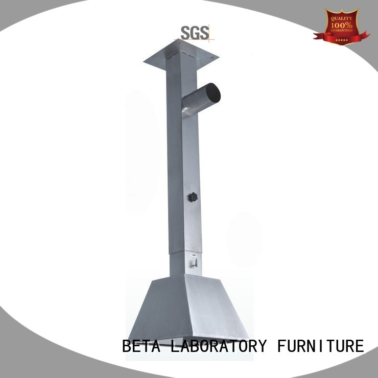 universal fume scalable benchtop lab fume hood BETA, betalab, lab fittings