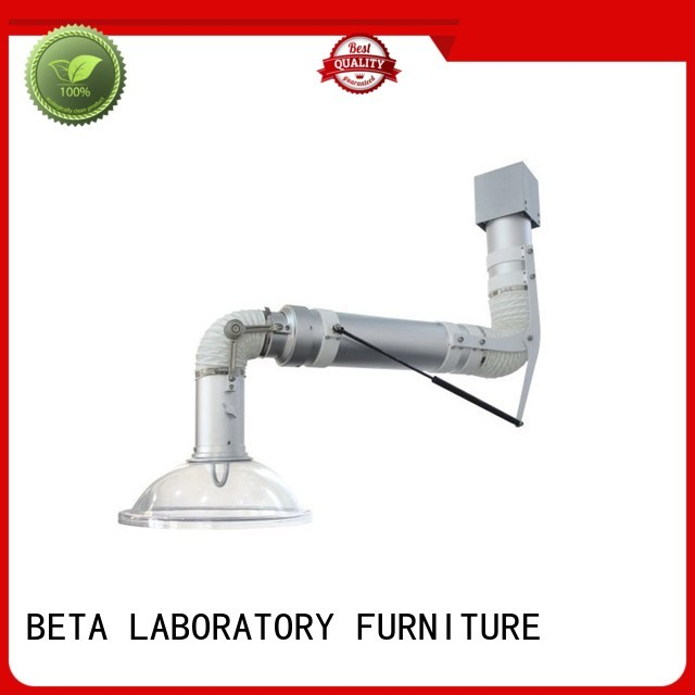 benchtop lab fume hood extraction BETA, betalab, lab fittings company